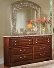 Standard Furniture Dresser & Mirror Triomphe ST-57209-18