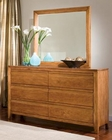 Standard Furniture Dresser with Mirror Drake Caramel ST-94159-94158