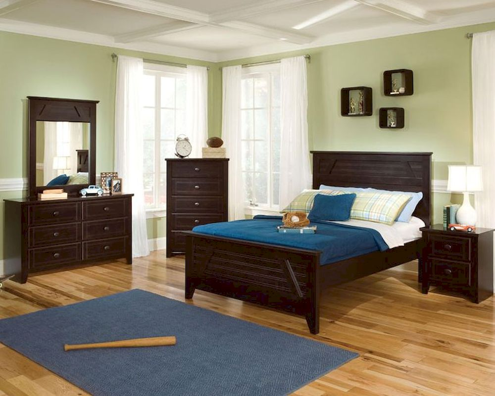 Standard Furniture Panel Bedroom Set Club House St 57453set