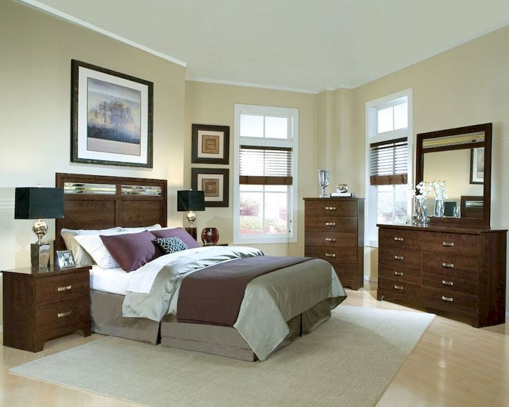 Standard Furniture Panel Bedroom Set Melrose St 55181set