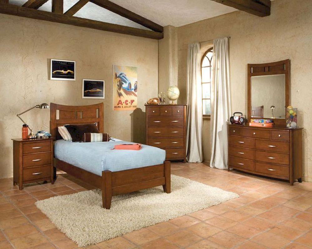 Standard Furniture Platform Bedroom Set Village Craft St 95850p
