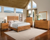 Standard Furniture Slat Bedroom Set Drake Caramel ST-94150