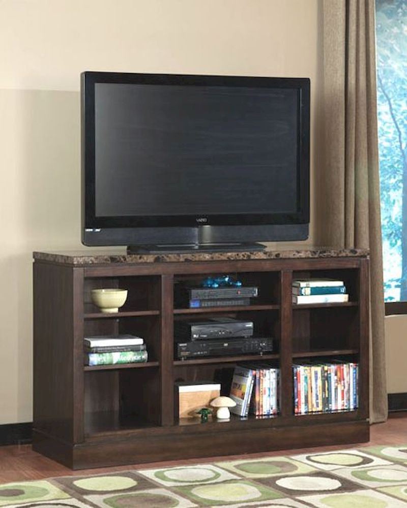 standard furniture tv console paramount in wenge finish st. Black Bedroom Furniture Sets. Home Design Ideas