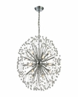 ELK Starburst 16 Light Chandelier in Polished Chrome EK-11546-16
