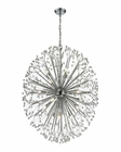 ELK Starburst 19 Light Chandelier in Polished Chrome EK-11547-19