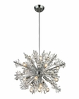 ELK Starburst Collection 19 Light Chandelier in Polished Chrome EK-11751-19