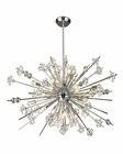 ELK Starburst Collection 29 Light Chandelier in Polished Chrome EK-11753-29