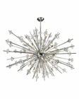ELK Starburst Collection 31 Light Chandelier in Polished Chrome EK-11754-31
