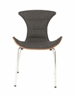 Stefano Side Chair in Dark Grey by Euro Style EU-02817DKGRY (Set of 2)