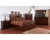 Storage Bedroom Set Santa Fe by Sunny Designs SU-2322DC-S-Set