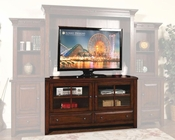 Sunny Designs 63in Rustic Mahogany TV Stand SU-3439RM-TC