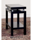 Sunny Designs Black Chair Side Table SU-3224B-CS