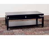 Sunny Designs Black Coffee Table SU-3224B-C