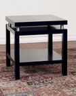 Sunny Designs Black End Table SU-3224B-E
