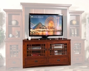 Sunny Designs Brown Cherry TV Stand SU-3439BC-TC