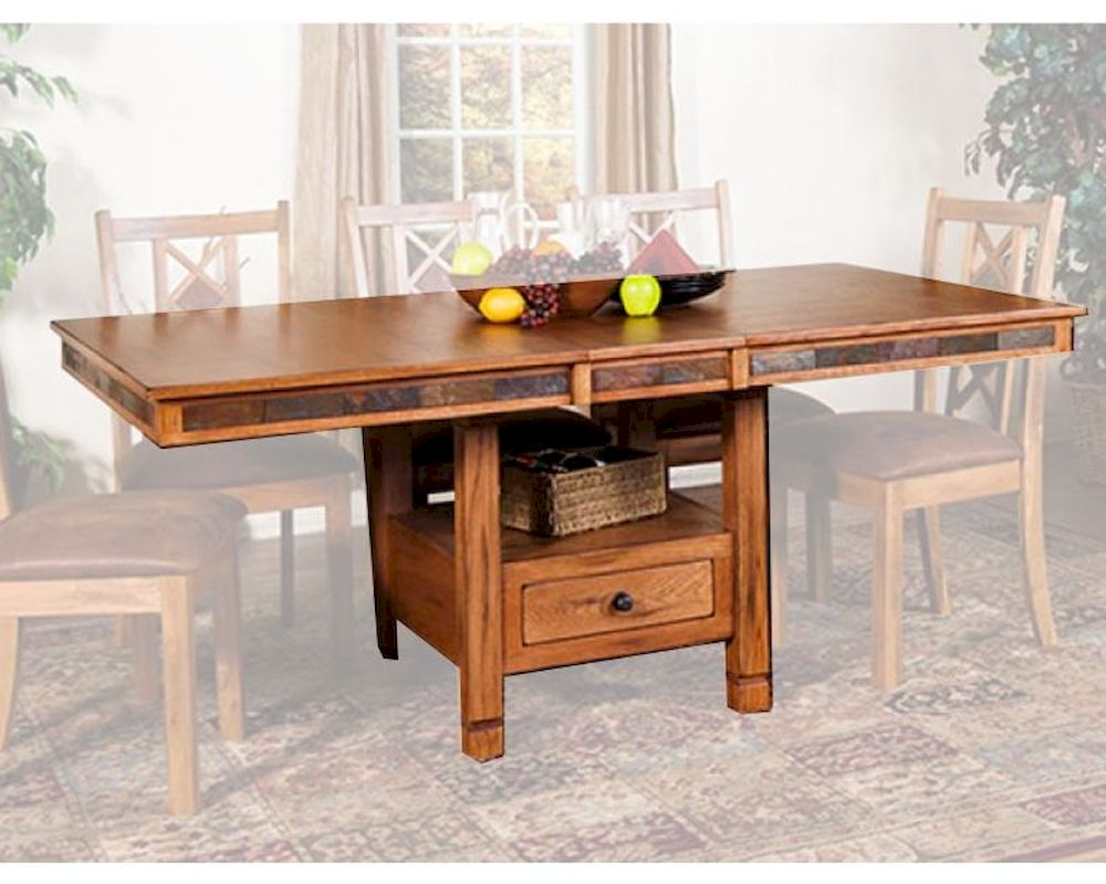 Butterfly Dining Table Sedona By Sunny Designs Su 1177ro