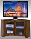 "Sunny Designs Corner 55"" TV Console Timber Creek 3399WC"