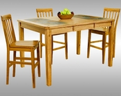 Sunny Designs Counter Height Dining Set Sedona SU-1274ROs