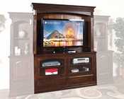 Sunny Designs Dark Chocolate Entertainment Center SU-3439DC-1