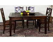 Santa Fe Dining Set w/ Extension Table by Sunny Designs SU-1273DCs