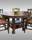 Sunny Designs Dining Table Santa Fe SU-1225DC