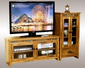Sunny Designs Entertainment Center Sedona SU-3398RO-52-AP