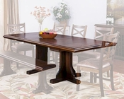 Extension Dining Table Savannah by Sunny Designs SU-1199AC