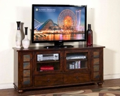 Sunny Designs Home 72in TV Stand Santa Fe SU-3438DC