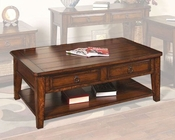 Sunny Designs Mango Grove Coffee Table SU-3201WH-C