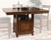 Sunny Designs Mango Grove Counter Height Table SU-1157WH