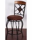 Sunny Designs Metal Swivel BarStool SU-1877RO