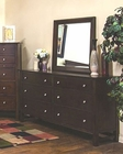 Sunny Designs Napa Dresser and Mirror SU-2354MG-DM