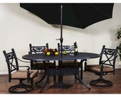 Sunny Designs outdoor Dining Set Newport SU-4701AB