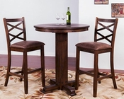 Pub Set w/ Pub Table Savannah by Sunny Designs SU-1350ACs