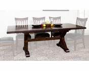 Rectangle Trestle Table Crosswinds by Sunny Designs SU-1358WM