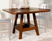 Sunny Designs Route 66 AdjusTable Height Table SU-1155BC