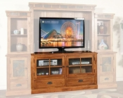 Sunny Designs Rustic Oak TV Cabinet SU-3439RO-TC