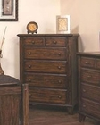 Sunny Designs Safari 5 Drawer Chest SU-2342SB-C