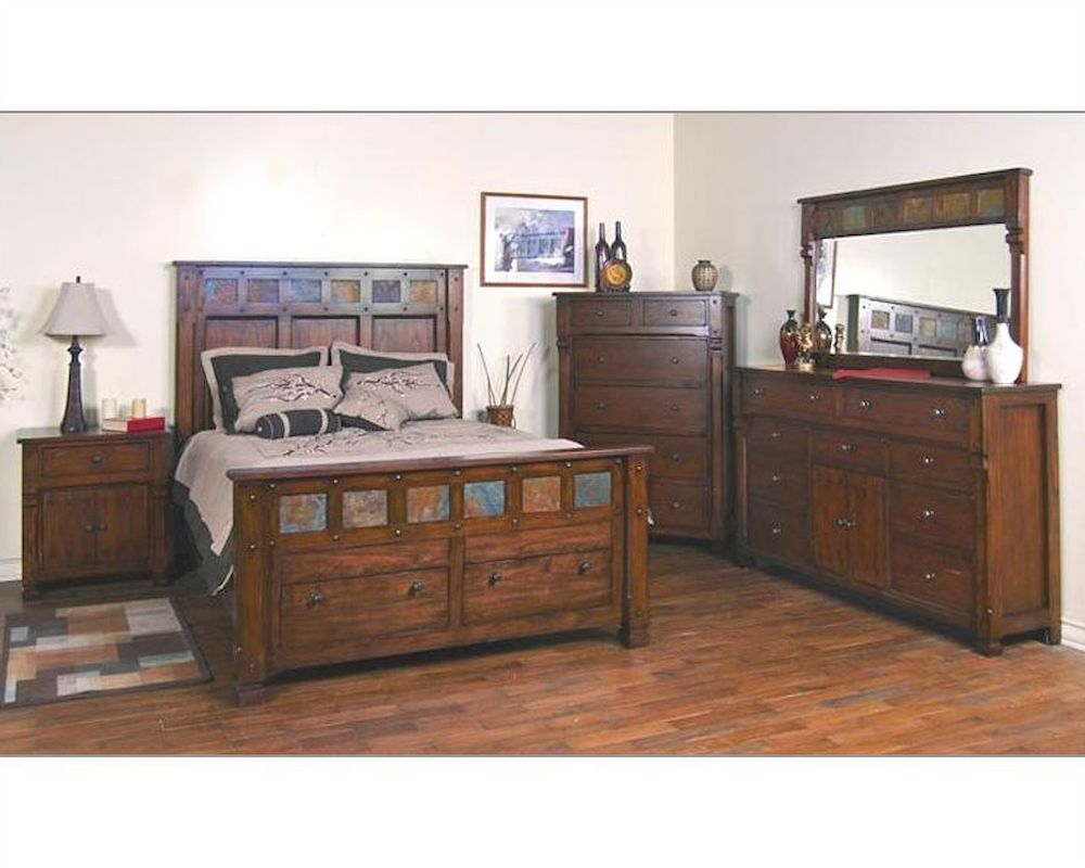 Sunny Designs Santa Fe Bedroom Set Su 2322dc Set