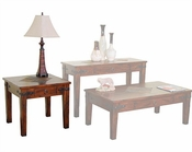 Sunny Designs Santa Fe End Table SU-3160DC-E