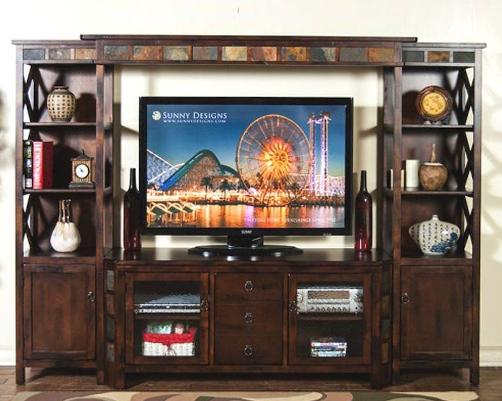Sunny Designs Santa Fe Home Entertainment Center Su 3416dc