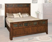 Sunny Designs Santa Fe Petite Panel Bed SU-2333DC-BED