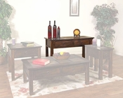 Sunny Designs Santa Fe Sofa Table with Slate Top SU-3145DC