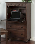 Sunny Designs Savannah Laptop Armoire SU-2849AC