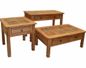 Sunny Designs Sedona Coffee Table Set SU-3143RO-Set