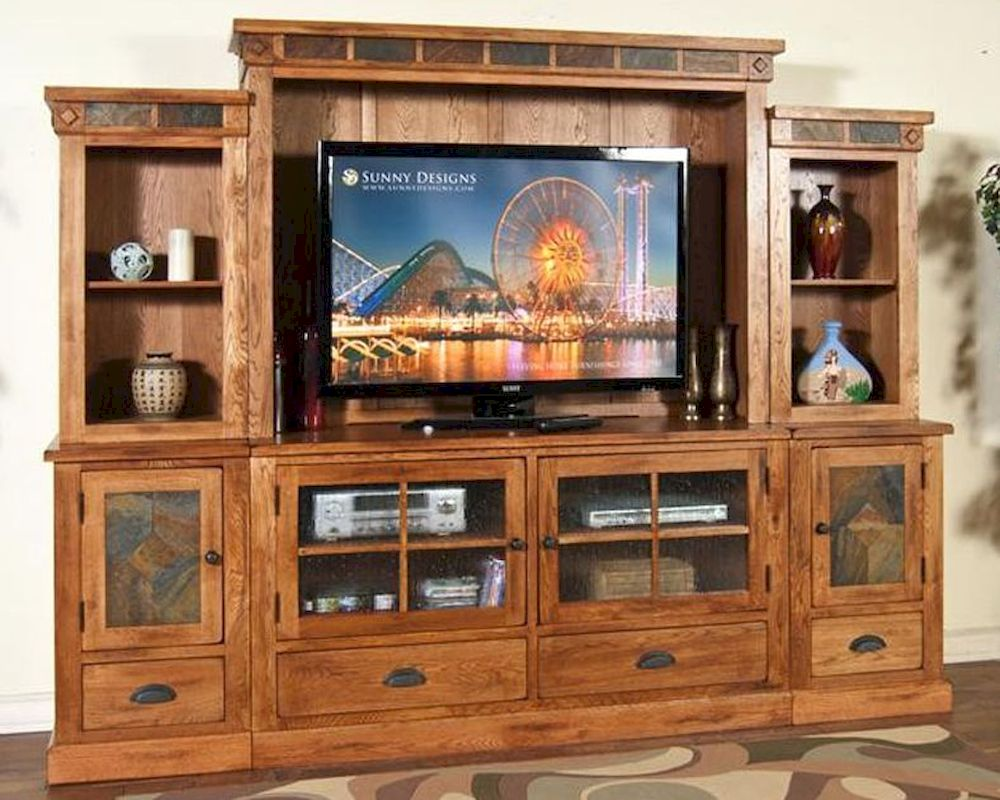 Sunny Designs Sedona Entertainment Wall Su 3439ro