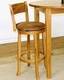 Sunny Designs Swivel Bar Stool Sedona w/Back SU-1883RO ( Set of 2 )