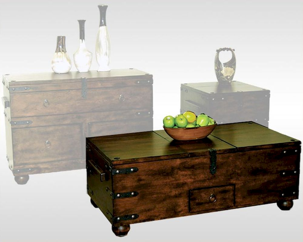 Sunny designs trunk coffee table santa fe su 3166dc c geotapseo Image collections
