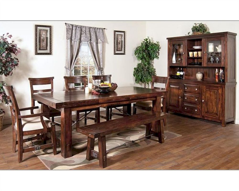 sunny designs vineyard dining room set su rm set