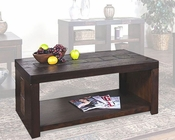 Sunny Designs Walnut Creek Dark Coffee Table SU-3215DWW-C